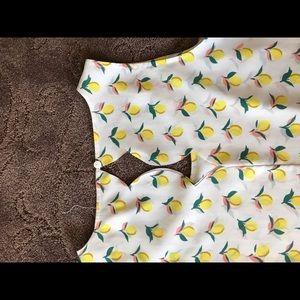 Maison Jules Tops - Lemon tank top